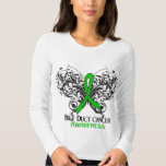 Butterfly Bile Duct Cancer Awareness Shirts