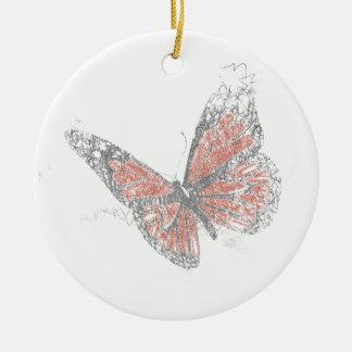 Butterfly (Biro) Christmas Ornament