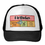 Butterfly Birthday Wishes Cap