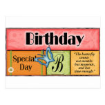 Butterfly Birthday Wishes Post Cards