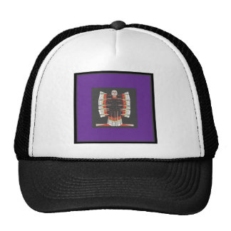 Butterfly blue angel made of Embroidered Cotton 99 Trucker Hat