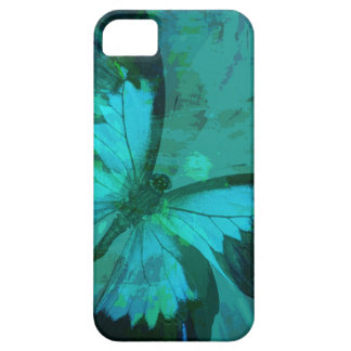 Butterfly Blue Case For The iPhone 5
