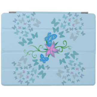 Butterfly Blue iPad Cover