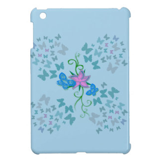 Butterfly Blue iPad Mini Cover