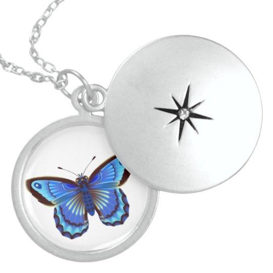 Butterfly blue Pendant