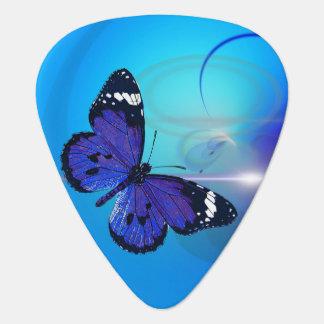 Butterfly Blue Standard Guitar Pick