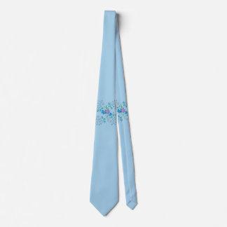 Butterfly Blue Tie