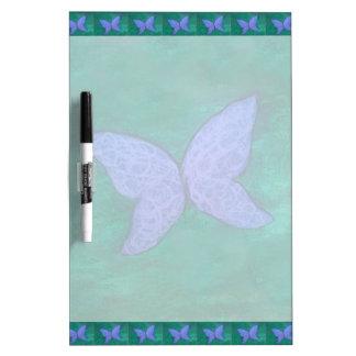Butterfly | Blue Violet Purple Green Wings Dry Erase Board