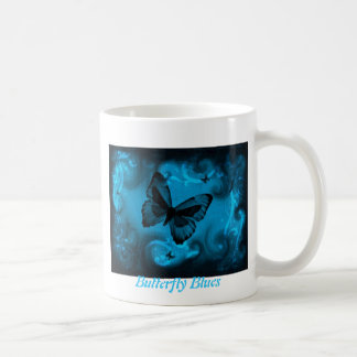 Butterfly Blues! - Cup Mug