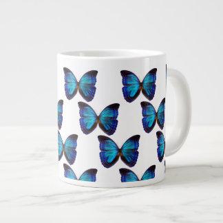 Butterfly Blues Jumbo Mug