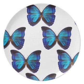 Butterfly Blues Plate