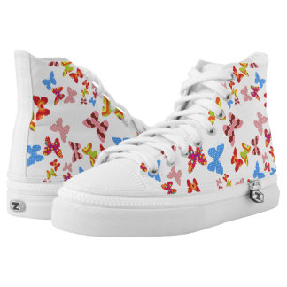BUTTERFLY BOOTS HIGH TOPS