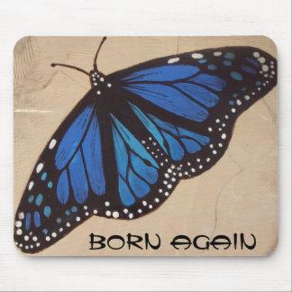 butterfly born again mousepads