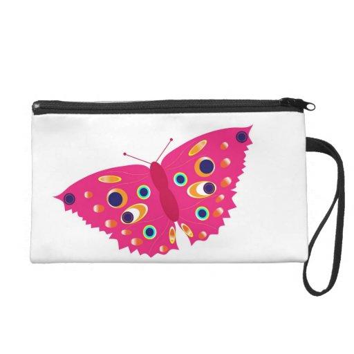 Butterfly Boss Lady Wristlet