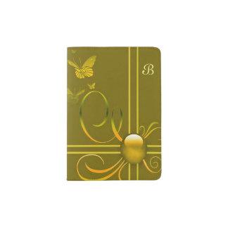 Butterfly Bows 2 Passport Holder