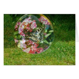 Butterfly Bubble Card