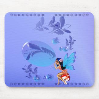 Butterfly Bubbles Mousepad