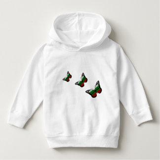 Butterfly Bulgarian Flag Hoodie