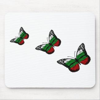 Butterfly Bulgarian Flag Mouse Mat