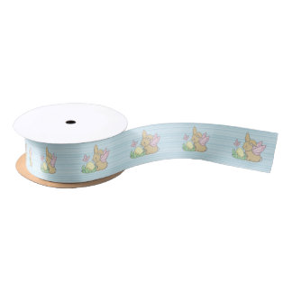 Butterfly Bunny and the Easter Egg Satin Ribbon