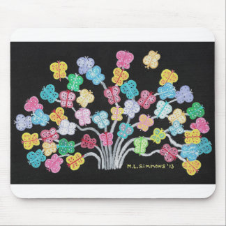 Butterfly Bush Mouse Pad