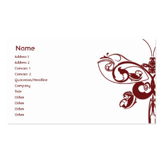Butterfly - Business Business Card Templates