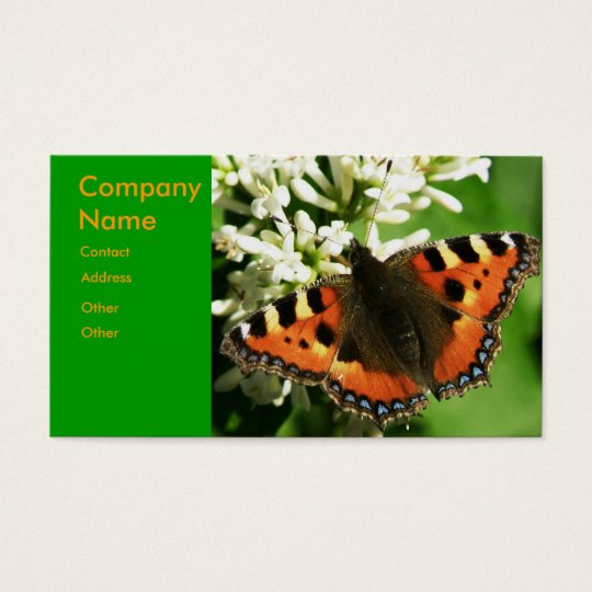 Butterfly - business card