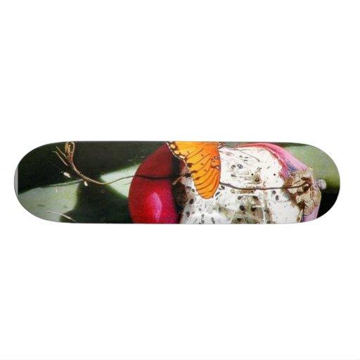 Butterfly Butterflies Cactus Skateboard Deck