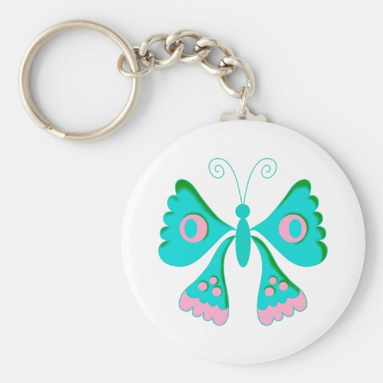 Butterfly Butterflies  Kids Stuff Key Ring