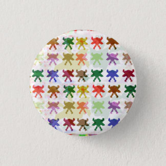 BUTTERFLY butterflies pattern graphic art insects 3 Cm Round Badge