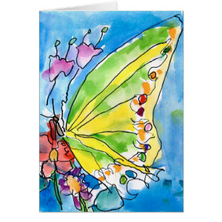 Butterfly by Jeffrey Shutt, Age 6 Card
