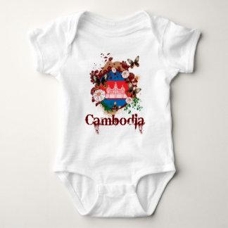 Butterfly Cambodia Baby Bodysuit