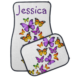 BUTTERFLY Car Mats Full Set (set of 4)