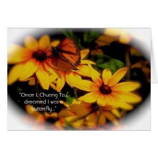 Butterfly Card - Daoist