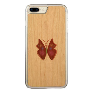 Butterfly Carved iPhone 8 Plus/7 Plus Case