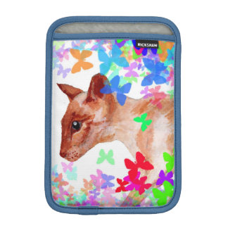 butterfly cat Rickshaw iPad mini sleeve