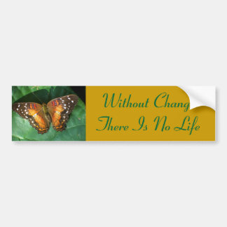 Butterfly Change bumper sticker