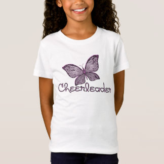 Butterfly Cheerleader T-Shirt