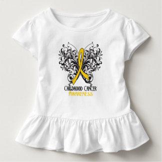 Butterfly Childhood Cancer Awareness T Shirt
