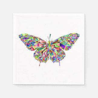 Butterfly Cocktail Napkins Paper Serviettes