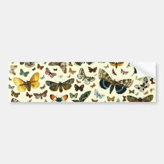 Butterfly Collage Bumper Sticker