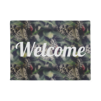 Butterfly Collage Doormat
