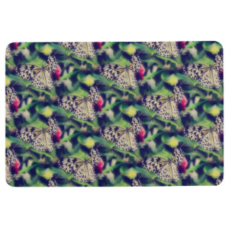Butterfly Collage Floor Mat