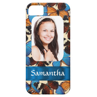 Butterfly collage photo template iPhone 5 cover