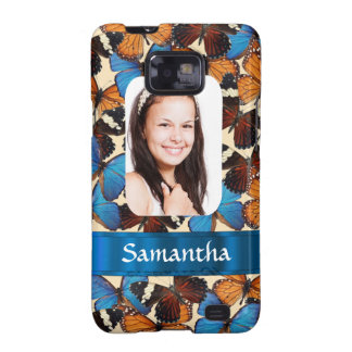Butterfly collage photo template galaxy SII cover
