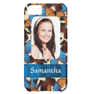 Butterfly collage photo template iPhone 5C case