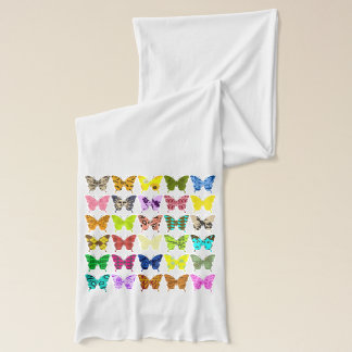 Butterfly Collage Scarf