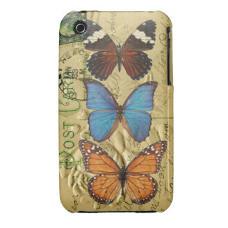 Butterfly collection iPhone 3 Case-Mate case