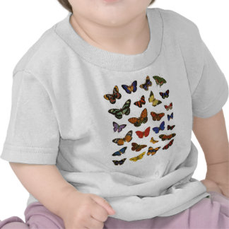 Butterfly Collection Tee Shirts