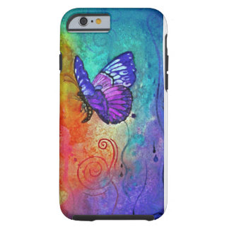Butterfly Color Blast Tough iPhone 6 Case